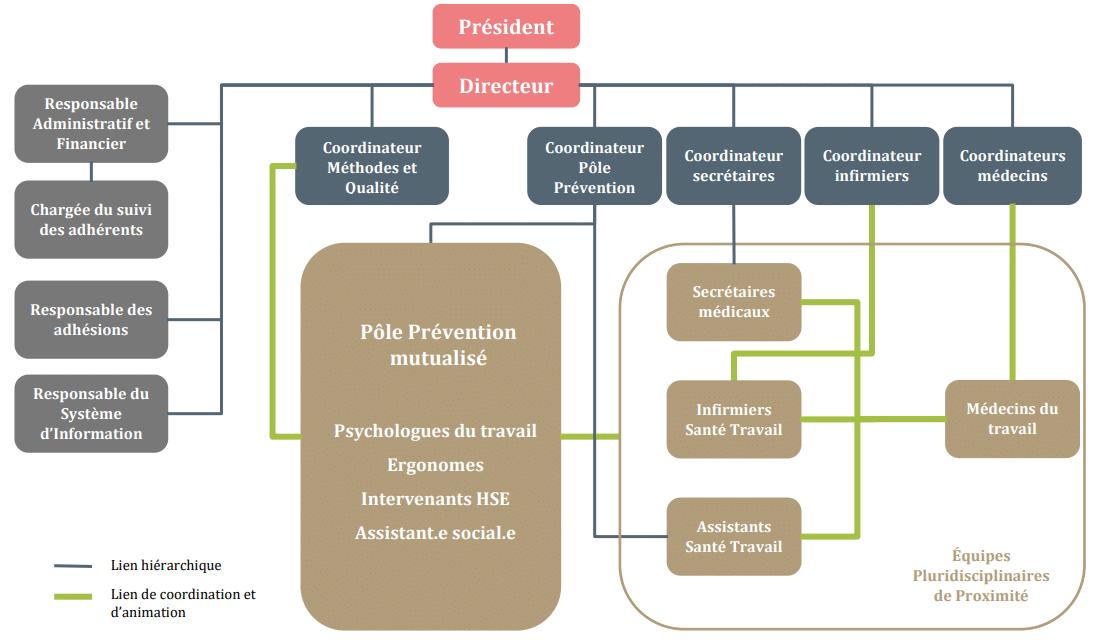 organigramme CMSM 2021