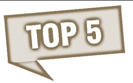 top 5 des SPA